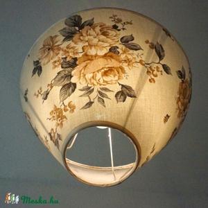 Virágos lámpa (MeiaLua) - Meska.hu