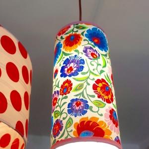 Virágos mennyezeti lámpa (MeiaLua) - Meska.hu