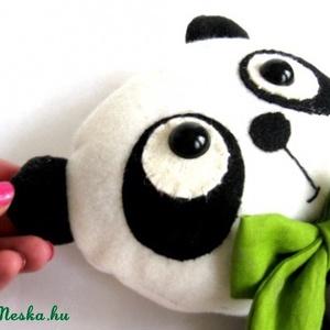 Panda játékfigura Plüss játék Plüss figura Panda maci (meilingerzita) - Meska.hu