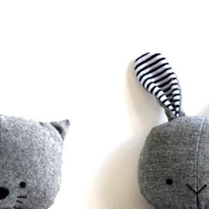 Névre szóló plüss játék Plüssjáték Plüss figura - maci nyúl macska (meilingerzita) - Meska.hu