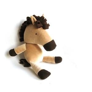 Ló játékfigura Plüss játék Plüss figura (meilingerzita) - Meska.hu