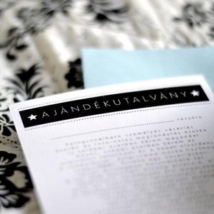 Biburi ajándékutalvány utalvány 10.000 forint értékben - beváltható a boltban található bármely termékre (meilingerzita) - Meska.hu