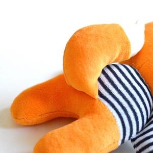 Róka figura csíkos pulóverben Plüss játék Plüss figura Plüssróka (meilingerzita) - Meska.hu