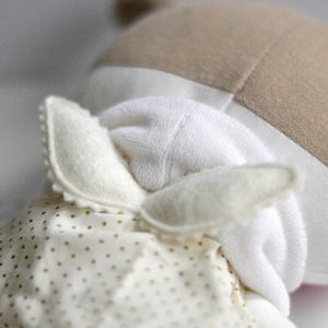 Angyal baba Textil baba Rongybaba Játék baba Játékbaba Sárga Fehér Öltöztetős baba (meilingerzita) - Meska.hu