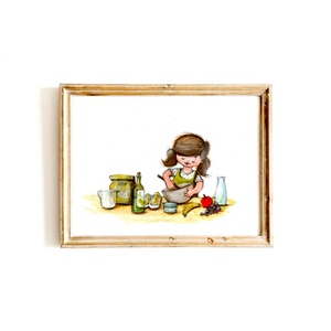 Eredeti, színes portré - egy személy, A4, Otthon & lakás, Képzőművészet, Festmény, Fotó, grafika, rajz, illusztráció, EREDETI, keretezhető portré A4-es méretben, 1 személlyel, álló vagy fekvő helyzetben, a képen szerep..., Meska