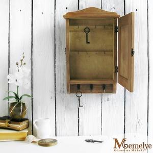 Kulcstartó szekrény, kulcsos szekrény, pipacs (Memelye) - Meska.hu