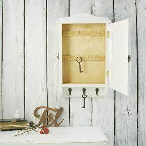 Kulcstartó szekrény, kulcsos szekrény, vörösbegy - Meska.hu