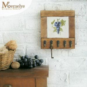 Kicsi Szőlős fali kulcstartó, kulcsakasztó (Memelye) - Meska.hu