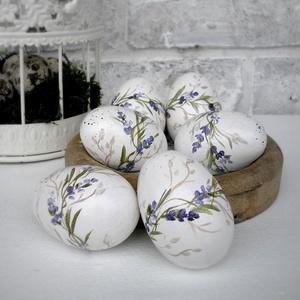 Húsvéti tojás, kézzel festett (Memelye) - Meska.hu