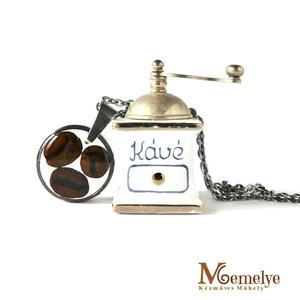 Kávé nyaklánc (Memelye) - Meska.hu