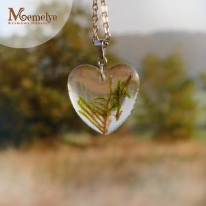 Moha szív nyaklánc (Memelye) - Meska.hu
