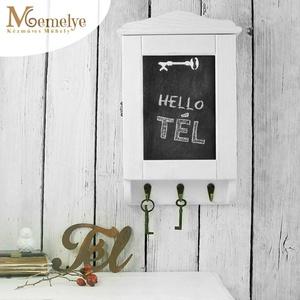 """Kulcstartó szekrény, kulcsos szekrény, hófehér, Otthon & Lakás, Bútor, Kulcstartó szekrény, Festett tárgyak, Hófehérre festett, krétával írható kulcstartó szekrény. \n\nA \""""kevesebb több\"""" jegyében készült kulcsta..., Meska"""