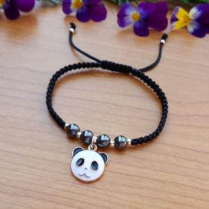 Panda  - karkötő - Meska.hu