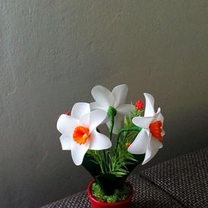 Harisnya virág, Otthon & Lakás, Dekoráció, Asztaldísz, Virágkötés, Kedves ajándék lehet gyerekeknek névnapra, születésnapra, vagy más alkalomra! Tartós és nem szárad e..., Meska