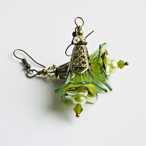 Narcissus - fleur design fülbevaló (merceria) - Meska.hu