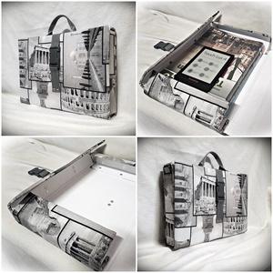 Fogd és vidd mappa táska, irattartó, füzetbox, füzettartó textillel bekötve, A4 (Merka) - Meska.hu