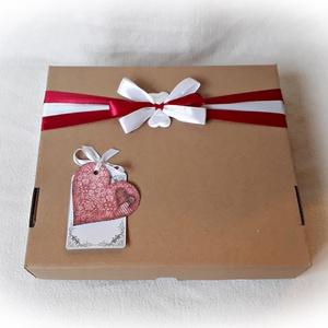 Autós pénzátadó doboz, piros Mitsubishi autóval, esküvő, nászajándék,nászút,fotótartó,boríték (Merka) - Meska.hu