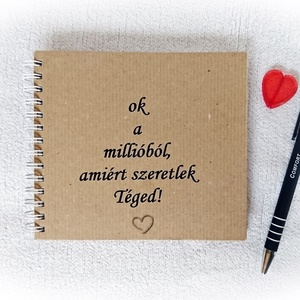 Mond el mennyire,miért szereted+külön kérhető Apa leszel meglepi kártya,jegyzetfüzet,napló,boríték,Anyák napja, szeretet (Merka) - Meska.hu
