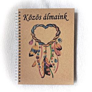 Közös álmaink napló pároknak, jegyzetfüzet - Meska.hu
