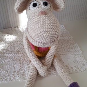 Édes amigurumi majom, maki! - játék & gyerek - plüssállat & játékfigura - majom - Meska.hu