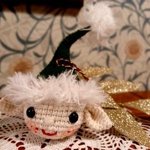Amigurumi manó karácsonyfa dísz - Meska.hu