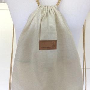 Cica mintás egyedi gymbag hátizsák, edzéshez, úszáshoz, kiránduláshoz - macska - Artiroka design - Meska.hu