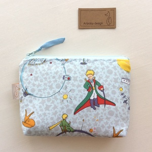 A Kis herceg mintás irattartó  pénztárca  prémium textilből - Artiroka design - Meska.hu