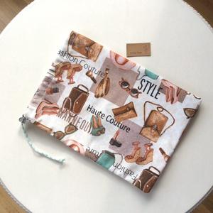 Fehérnemű zsák - Style - Houte Couture - Fashion felirattal - Artiroka design  (Mesedoboz) - Meska.hu