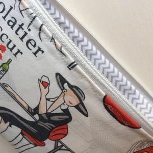 BUÉK 2020! Hölgy koktéllal -  kozmetikai táska, neszesszer - Artiroka design  (Mesedoboz) - Meska.hu