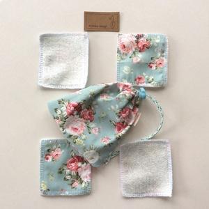 Arctisztító párna szett, bambusz frottír és prémium pamut textil felhasználásával - Artiroka design (Mesedoboz) - Meska.hu