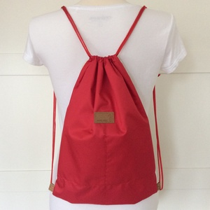 AKCIÓ - Vörösbegy madárkás hátizsák belső zsebekkel, kulcstartó pánttal - Artiroka design (Mesedoboz) - Meska.hu