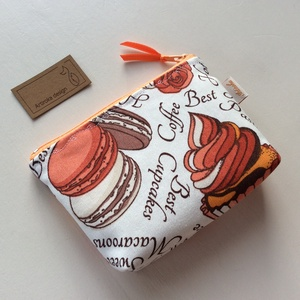 Macaron mintás irattartó pénztárca akár édesség helyett is - Artiroka design (Mesedoboz) - Meska.hu