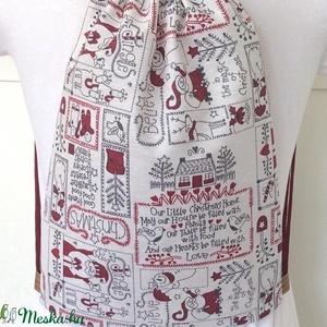 AKCIÓ - Egyedi vízlepergetős gymbag hátizsák - edzéshez, kiránduláshoz, vagy a mindennapokra - Artiroka design leírása (Mesedoboz) - Meska.hu