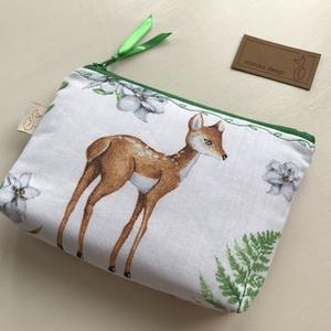 Bambi gyermeke - irattartó pénztárca, neszesszer -  Artiroka design - Meska.hu