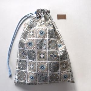 ÖKO kenyeres zsák , cementlap mintával, lélegző PUL belsővel / NoWaste leírása- Artiroka design (Mesedoboz) - Meska.hu