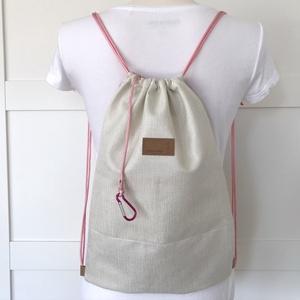 Unikornis mintás rózsaszín gymbag hátizsák, tornazsák edzéshez, úszáshoz - Artiroka design (Mesedoboz) - Meska.hu