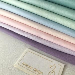 Egyszínű,  pasztellfagyi színű arcmaszkok - többféle színben - szájmaszk, maszk, gyerekmaszk - Artiroka design (Mesedoboz) - Meska.hu