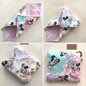 ÖKO szalvéta, szendvics - uzsonna csomagoló, Mickey  egeres, vízhatlan belsővel / NoWaste leírása- Artiroka design (Mesedoboz) - Meska.hu