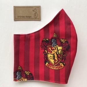 Harry Potter mintás arcmaszk, szájmaszk, maszk - Artiroka design, Táska, Divat & Szépség, Szépség(ápolás), Maszk, szájmaszk, NoWaste, Varrás, Többször használatos, mosható, környezetbarát szájmaszk, több méretben. Külső anyaga Harry Potter mi..., Meska