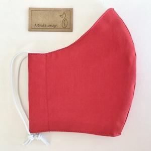 Egyszínű,  piros, fekete, sötétkék, királykék- szájmaszk, maszk, gyerekmaszk - Artiroka design (Mesedoboz) - Meska.hu