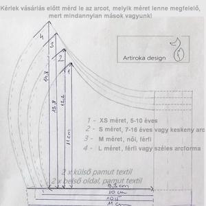 Szürke alapon piros motor mintás maszk, arcmaszk, szájmaszk  - Artiroka design (Mesedoboz) - Meska.hu