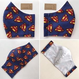 Superman mintás prémium arcmaszk, szájmaszk, maszk, gyerek maszk - Star Wars  - Artiroka design - Meska.hu