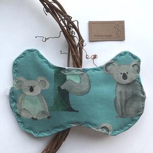 Koala mackó mintás, füles alvómaszk, szemmaszk -  Artiroka design, Szépségápolás, Arcápolás, Alvómaszk, szemmaszk, Varrás, Koala mackó mintás pihe-puha prémium pamutból készült ez az alvómaszk, szemmaszk. \nHátoldala fehér p..., Meska