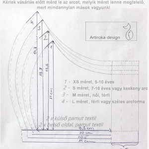 Gólya mintás prémium pamut textil, napsárga színű arcmaszk, szájmaszk, maszk - Artiroka design - Meska.hu