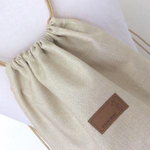 Őzike mintás egyedi gymbag hátizsák, tornazsák edzéshez, kiránduláshoz, úszáshoz  - Meska.hu