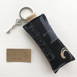 Gitár mintás egyedi kulcstartó  - Artiroka design - táska & tok - kulcstartó & táskadísz - kulcstartó - Meska.hu