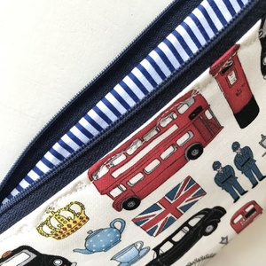 London csodái mintás, prémium tolltartó, neszesszer vagy szemüvegtok - Artiroka design - Meska.hu