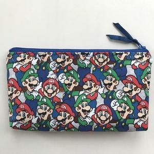 Mario és Luigi mintás tolltartó, szemüvegtok neszesszer - Artiroka design, Táska & Tok, Neszesszer, Varrás, Meska