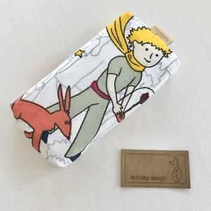 Kis herceg és a róka mintás zsebkendő tartó  - Artiroka design, Táska & Tok, Pénztárca & Más tok, Zsebkendőtartó tok, Varrás, Meska