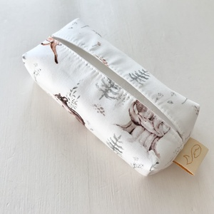 Rókás zsebkendő tartó  - Artiroka design - táska & tok - pénztárca & más tok - zsebkendőtartó tok - Meska.hu